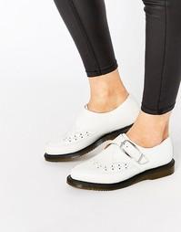 Остроносые туфли на плоской подошве с ремешком Dr Martens Rousden