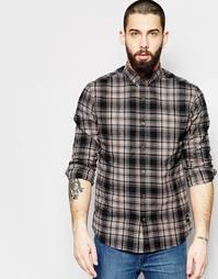Рубашка в клетку Only & Sons - Серый