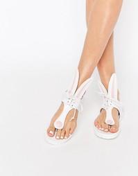 Белые сандалии Minna Parikka Miss Bunny - Белый