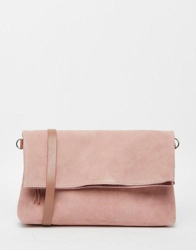 Замшевая сумка через плечо Jack Wills Northcote - Румяный розовый
