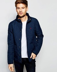 Стеганая куртка Jack Wills - Темно-синий