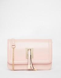 Сумка через плечо с ремешком-цепочкой Yoki Fashion - Розовый