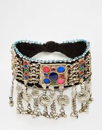 Броское ожерелье-чокер Rock N Rose Hannali - Мульти