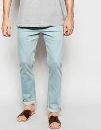 Светлые эластичные джинсы слим ASOS - Светло-голубой