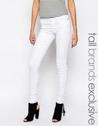 Мягкие джинсы Noisy May Tall Extreme Lucy - Белый