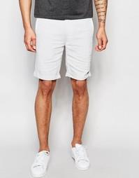 Льняные шорты Bellfield - Светло-серый