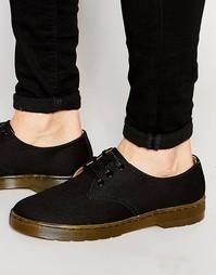 Холщовые туфли Dr Martens Delray - Черный