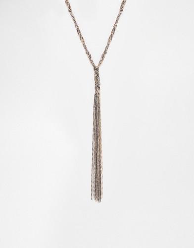 Ожерелье из переплетенных цепочек Coast Evie - Золотой