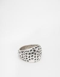 Серебристое фактурное кольцо ASOS - Шлифованный серебряный