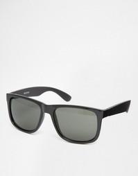 Квадратные солнцезащитные очки Selected Homme - Черный