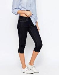 Укороченные джинсы Esprit - Подсиненный