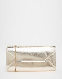 Клатч-конверт Lipsy - Золотой
