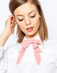 Пастельный галстук с разноцветными бантиками ASOS - Розовый