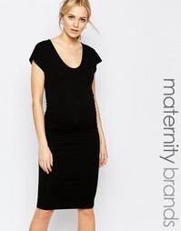 Платье-футляр с короткими цельнокройными рукавами Isabella Oliver