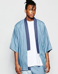 Джинсовое кимоно The New County - Синий