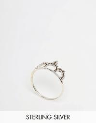 Серебряное кольцо с точечной отделкой Regal Rose LAUREL - Серебряный