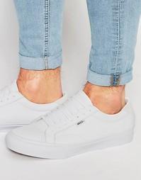 Белые кожаные кроссовки Vans Court V4OWL3H - Белый