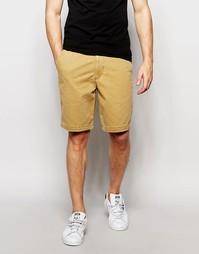Классические шорты цвета хаки Hollister - Хаки