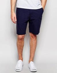 Синие прямые шорты чиносы из эластичной смеси хлопка и льна Levi's Levi's®