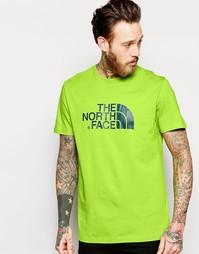 Футболка с логотипом The North Face Easy - Светло-зеленый
