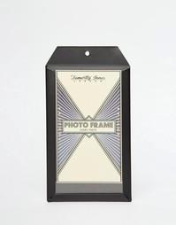 Маленькая черная карманная рамка для фото Temerity Jones - Мульти
