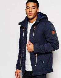Куртка-парка с капюшоном Blend - Темно-синий