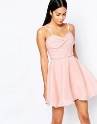 Платье для выпускного Rare Opulence - Розовый