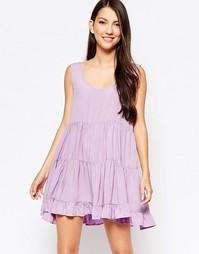Многоярусное платье Glamorous - Сиреневый