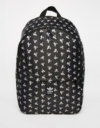 Рюкзак с принтом adidas Originals Rita Ora - Темно-серый вереск