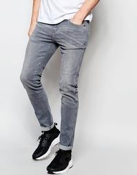 Зауженные серые джинсы Dr Denim Snap - Серый цвет