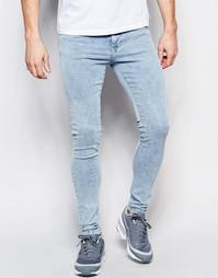 Супероблегающие джинсы скинни в стиле 80-х Dr Denim Leroy - 80s stone