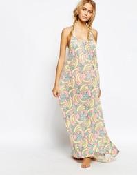Пляжное платье Wildfox Banana - Мульти