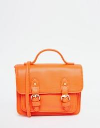 Компактная сумка-сэтчел ASOS - Оранжевый