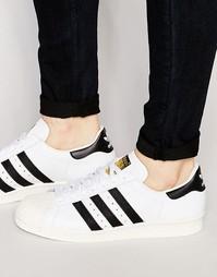 Кроссовки в стиле 80‑х Adidas Originals Superstar G61070 - Белый