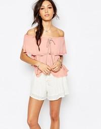 Пляжная блузка Somedays Lovin Sweet Lullaby - Пыльно-розовый