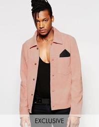 Замшевая куртка Black Dust - Розовый