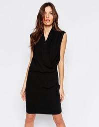 Платье с запахом спереди Selected Timla - Черный