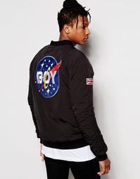 Куртка-пилот Boy London Space - Черный