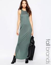 Платье макси Vero Moda Tall - Хаки