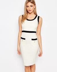 Платье миди с карманами Vesper