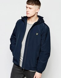 Куртка с капюшоном Lyle & Scott Vintage - Новый темно-синий
