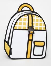 Рюкзак с пряжкой JumpFromPaper - Желтый