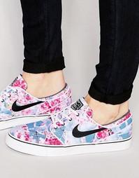 Холщовые кроссовки Nike SB Zoom Stefan Janoski 705190-602 - Розовый