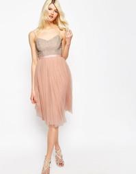 Тюлевое платье с отделкой Needle & Thread Coppelia