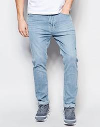 Голубые джинсы слим Dr Denim Leon