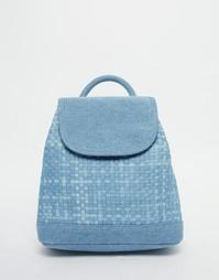 Маленький джинсовый рюкзак ASOS - Синий