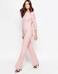 Комбинезон телесного цвета Millie Mackintosh - Розовый