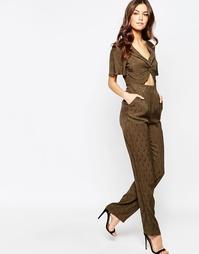 Комбинезон цвета хаки с вырезами Millie Mackintosh - Хаки