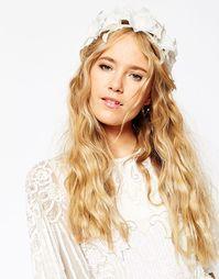 Повязка на голову с лилиями ASOS WEDDING - Белый
