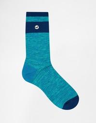 Меланжевые носки Hollister - Зеленый